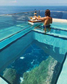 Poss North Beach 3 Rd Fitnessraum Etage Pool im Balkonstil Vacation Places, Dream Vacations, Vacation Spots, Vacation Ideas, Jamaica Vacation, Beach Vacations, Luxury Pools, Luxury Swimming Pools, Dream Pools