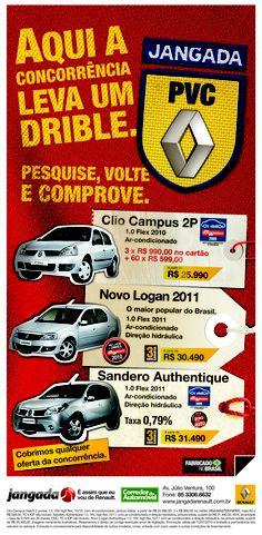 Flex cria para Jangada Renault - PVC