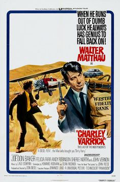 CHARLEY VARRICK - Walter Mathau - Directed by Don Siegel - Universal - Movie…