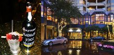 The $10,000 cocktail offered at Windsor Court Hotel, New Orleans celebrates Superbowl