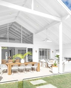 Outdoor Areas, Outdoor Rooms, Outdoor Dining, Outdoor Decor, Dining Table, Dining Chairs, Porches, Interiors Online, Dream House Exterior