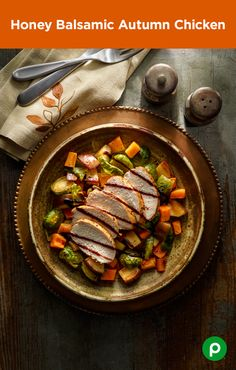 Kick off football season with a sweet-and-zesty dish from Publix Aprons. Honey Balsamic Autumn Chicken is so easy to cook, it can't be penalized for delay-of-dinner.