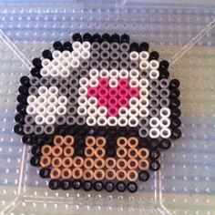 Companion mushroom perler beads by splattycake