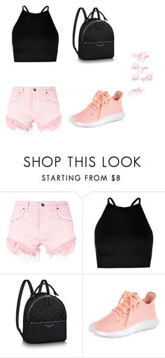 """""""magic mountain outfit"""" by selened on Polyvore featuring Gaëlle Bonheur, Boohoo and adidas"""