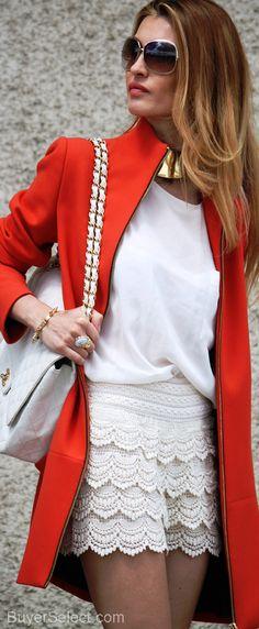 pop of color jacket!