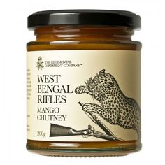 The Regimental Condiment Company is an award-winning producer of premium gourmet food, made to traditional family recipes, emanating from the glory days of the Officers' Mess. Food Packaging Design, Food Labels, Family Meals, Family Recipes, Bottle Design, Design Thinking, Chutney, Gourmet Recipes, Sauces