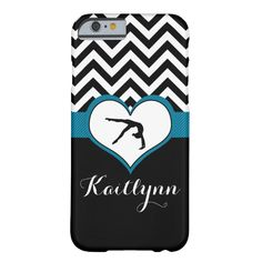 Gymnastics Chevron Heart Personal iPhone 6 Case