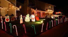 Candy Cane Lane, Chula Vista