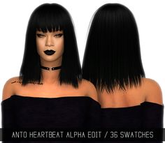 Sims 4 CC's - The Best: ANTO HEARTBEAT (ALPHA EDIT) by simpliciaty