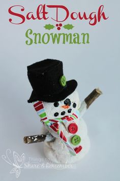 10 Snowman Playdough/Snowdough Activities (including our snowdough recipe) | Our Little House in the Country