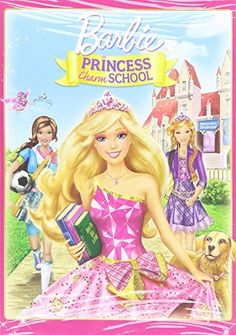 #awesome #Barbie stars as Blair Willows, a kind-hearted girl who is chosen to attend Princess Charm School, a magical, modern place that teaches dancing, how to ...