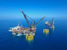 Video: Maersk Oil puts all three Culzean jackets in place