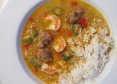 Shrimp gumbo. An easy weeknight meal.