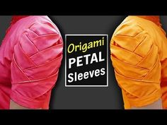Origami Petal Sleeves Designs for Kurti | Latest Sleeves Designs for Kameez | BST - YouTube