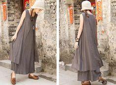 Dress Sleeveless Cotton