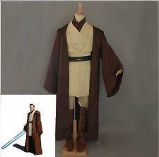 New Star Wars Obi-Wan Cloak Suits Kenobi Jedi Knight Halloween Cos Dress-Up Set