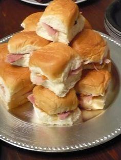 Finger Food Sandwiches   tyme2eat   Hawaiian Ham Sandwich (Left-overs finger sandwiches)