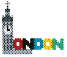 London Hama beads - Cities Set HAMA 3038