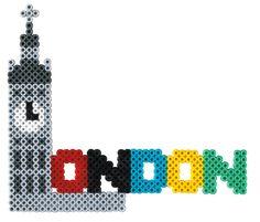 London Hama beads - Cities Set HAMA 3038
