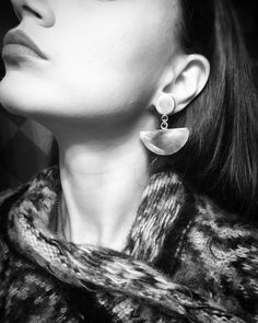 Geometric handmade earrings Visit our shop Chiraljewelry Earrings Handmade, Handmade Jewelry, Fall Jewelry, Etsy Handmade, Fall Winter, Jewelry Design, Drop Earrings, Shopping, Fashion