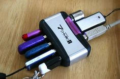 Making your own RAID back up drive from old usb thumb drives! Source: http://www.maketecheasier.com/hack-usb-drives-mini-raid-mac/?utm_source=newsletter&utm_medium=email&utm_campaign=11032015
