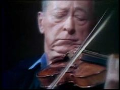Jascha Heifetz playing the Bach Chaconne