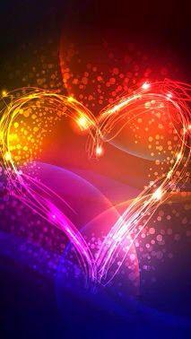 Glow heart