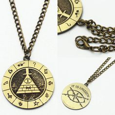 Anime-Gravity-Falls-Bill-Cipher-Boss-Necklace-Pendant-Cosplay-Collection-Otaku