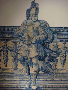 azulejo português séc XVIII