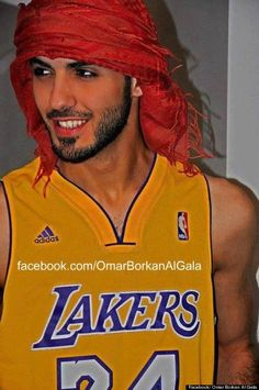 Omar Borkan Al Gala - kicked out of Saudi Arabia for being too handsome