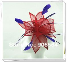 >> Click to Buy << Free shipping Retail hair clip sinamay fascinator hats, feather hair accessories ,RMSF057 #Affiliate