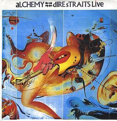 dire-straits-alchemy #art #record #cover