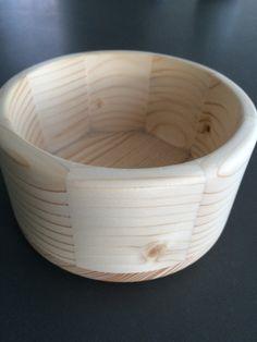 Schale Föhrenholz Wood turning drechseln