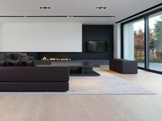Black and White interiors are edgy trendy enigmatic sophisticated. - Black and White interiors are edgy trendy enigmatic sophisticated. Let yourself be inspired by this - Living Room Tv, Interior Design Living Room, Living Room Designs, Interior Decorating, Luxury Interior, Luxury Furniture, Furniture Design, Outdoor Furniture, Wooden Furniture