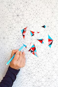 DIY Wallpaper / Coloring Wallpaper