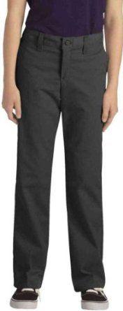 Dickies KP7718 Juniors' Stretch Straight Leg Pant Black Size 9 Dickies. $15.99