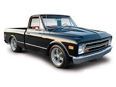 68 Chevy C10. This is the truck John is rebuilding. Body work almost complete. Corvette engine. Can't wait!