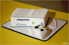 X Box groom's cake - Photo by Jason