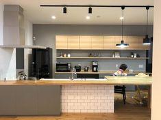 Kitchen Office, Kitchen Interior, New Kitchen, Kitchen Dining, Kitchen Cabinet Design, Kitchen Cabinets, Natural Interior, Bedroom Furniture Design, Interior Decorating
