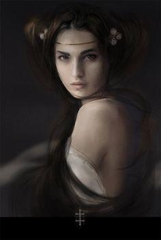 .:Girl's portrait:. by EVentrue.deviantart.com on @deviantART