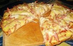 Домашнее быстрое тесто для пиццы на сметане