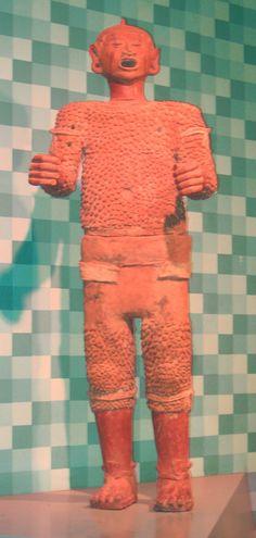Dios Xipe Totec,ceramica mexica.  American Museum of Natural History