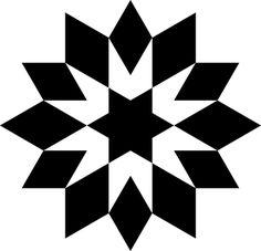 Jewish, Quilt, Shape, Star