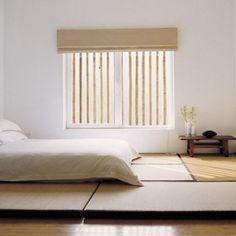 Une chambre zen à la pureté japonaise