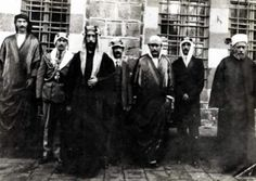King Feisal in Homs, Syria.