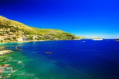 The sea melted into the sky - Pinned by Mak Khalaf My love Dubrovnik ... one and only !!! Travel beachblueboatcroatiadubrovnikgreenoceanold townportseaskytravel by WenMinTseng