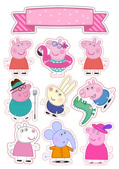 Peppa Pig is usually a British toddler cartoon television set line directed and also that Bolo Da Peppa Pig, Cumple Peppa Pig, Peppa Pig Birthday Cake, Birthday Bash, Birthday Celebration, Sticker Printable, Peppa Pig Imagenes, Peppa Pig Wallpaper, Peppa Pig Printables