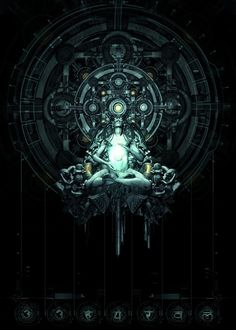 cyberpunk art, futuristic art, nihilisme, science fiction, digital art, spiritual, sci-fi