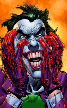 The Joker, Batman x-stitch comic book, character, Gotham. Art Du Joker, O Joker, Harley Quinn Et Le Joker, Joker Clown, Batman Comic Art, Im Batman, Marvel Dc Comics, Superman, Joker Comic