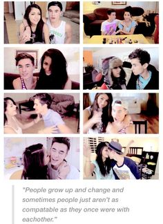 Kian Lawley Andrea Russett this makes me want to cry they were so perfect for eachother
